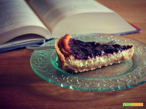 Cheesecake ai frutti di bosco  #ricette #food #recipes