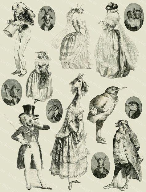 Free Collage, Digital Collage, Collage Art, Digital Papers, Digital Scrapbooking, Funny Illustration, Illustrations, Vintage Clip Art, Kritzelei Tattoo