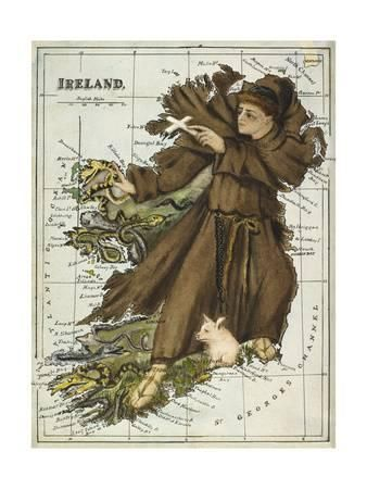 Image result for st patrick's snakes pinting