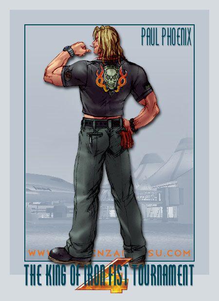 Paul Phoenix Tekken 4 What S Up