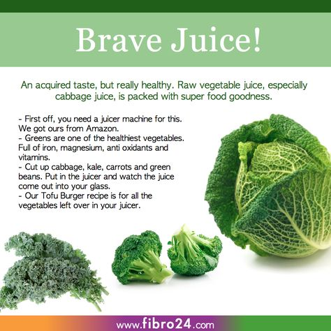 We created a bunch of recipes that could help folks with fibromyalgia.  Named brave because not many of us do this! However, the minerals and vitamins involved in this glass is 1000 times better than a fizzy drink. huge healthy benefits.