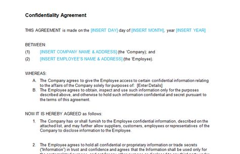 Jobs offer, Carpenters for our Sharjah based company Job Description - employee confidentiality agreement