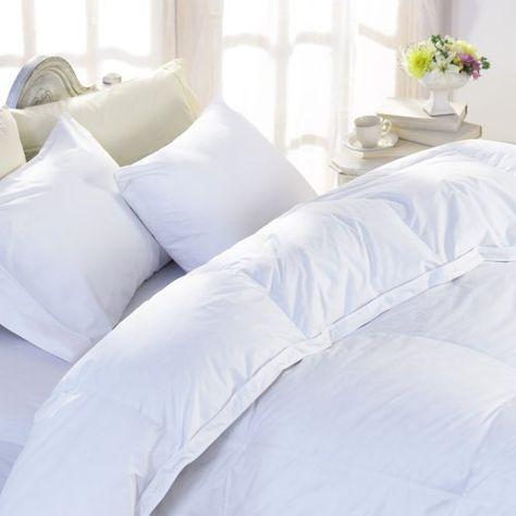Luxury German Batiste 800 Fill Power White Goose Down Comforter