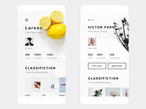 My Life App Design Me & User by Zhao Legs #Design Popular #Dribbble #shots
