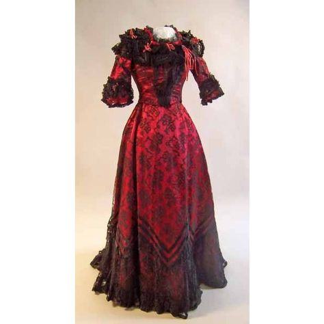Vintage Fashion: 1850-1899 via Polyvore