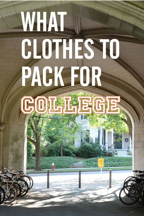 Stylebook Closet App: What Clothes to Pack for College