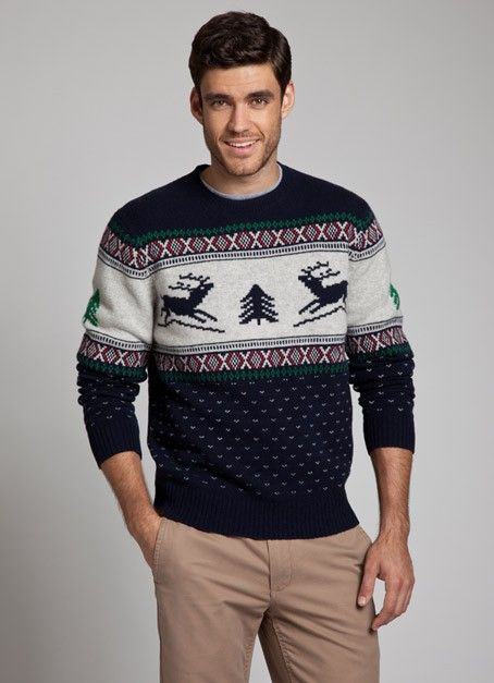 Bonobos Fair Isle Holiday Reindeer Sweater | Husband Style ...