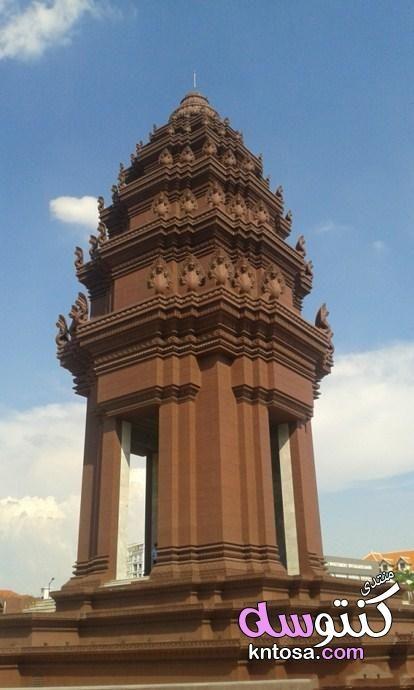 السياحة في بنوم بنه بالصور عاصمة كمبوديا رحلتى داخل بنوم بنه عاصمة كمبوديا الطبيعية فى كمبوديا Kntosa Com 27 19 155 Big Ben Travel Landmarks