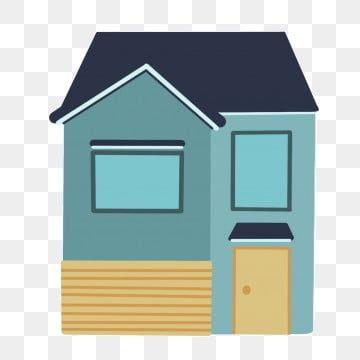 아파트 재산 간단한 일러스트 간단한 집 건물 주거 노란 문 집 집 옥외 녹색 외관 건물 건물 그림 In 2020 Building A House Simple House Building Illustration