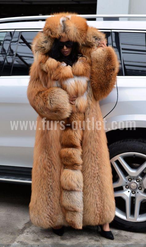 New Women Chinchilla Natural Real Rex Rabbit Fur Coat Jacket Full Pelt Overcoat