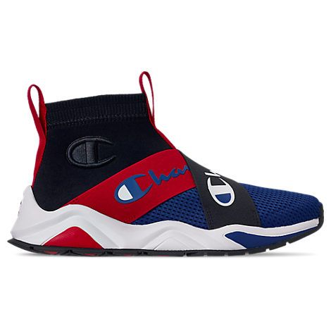 Champion Kids Toddler Boys Rally Crossover Casual Sneakers From Finish Line In Blue Black Red Modesens Champion Sneakers Champion Shoes Casual Shoes