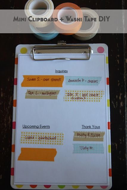Emilee Sutherland: To-Do List with Flair DIY