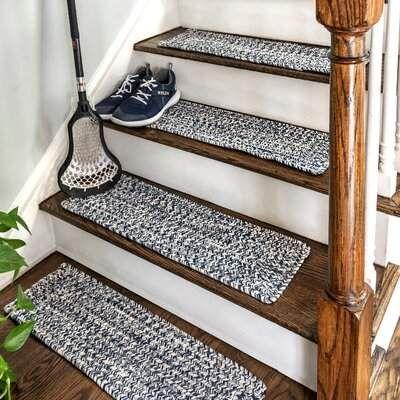 Gracie Oaks Godinez Stair Tread Wayfair Diy Stairs Stair   Wayfair Stair Tread Rugs   Bullnose Carpet   Tucker Murphy   Slip Backing   Non Slip Stair   Skid Resistant