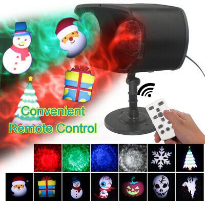 Details About Christmas Projector Light Led 12pattern Garden Party Outdoor Ocean Wa Ve J5t6 In 2020 Christmas Projector Holiday Projector Solar Fairy Lights