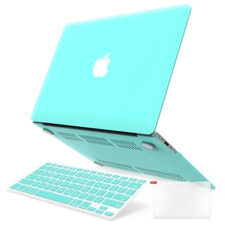 """Summer Flower Print Green Silicone Keyboard Cover for Macbook Air 11/"""" A1370"""
