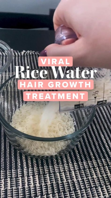 I Tried The Viral Rice Water Hair Growth Treatment