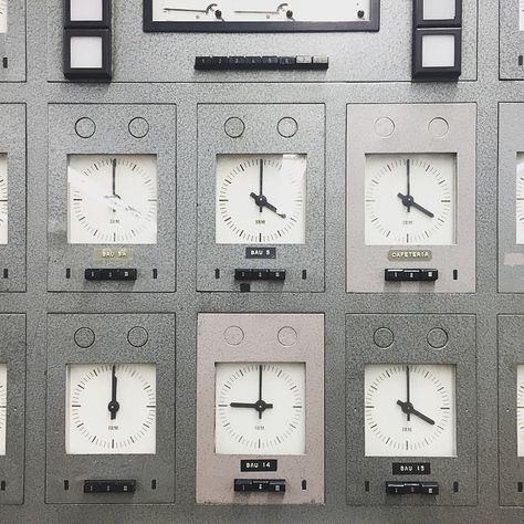 Time punch and clocks artifacts at the #IBM archives in