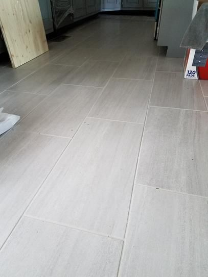 Daltile Nova Falls Gray From Hd Porcelain Flooring Tile Floor Living Room Grey Tile Kitchen Floor