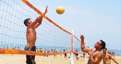 On June 9th Have Fun Playing Beach Volleyball At Summer Fest Www Ocweekly Com Summer2013