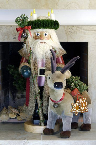 German Erzgebirge Nutcrackers Ulbricht Nutcrackers Christmas Time Nutcracker by Christian Ulbricht