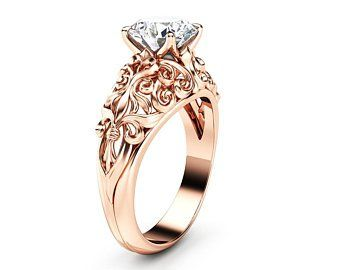 Etsy Your Place To Buy And Sell All Things Handmade Unique Engagement Rings Rose Gold Unique Engagement Rings Unique Jewelry