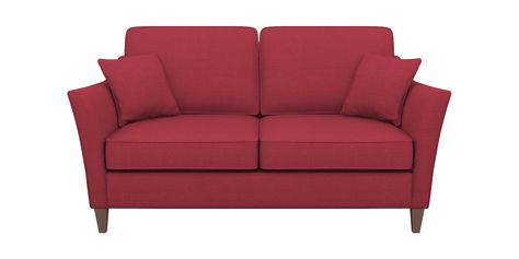 Groovy Pink Medium Sized Small 2 Seater Sofa Viking Fuchsia Beatyapartments Chair Design Images Beatyapartmentscom