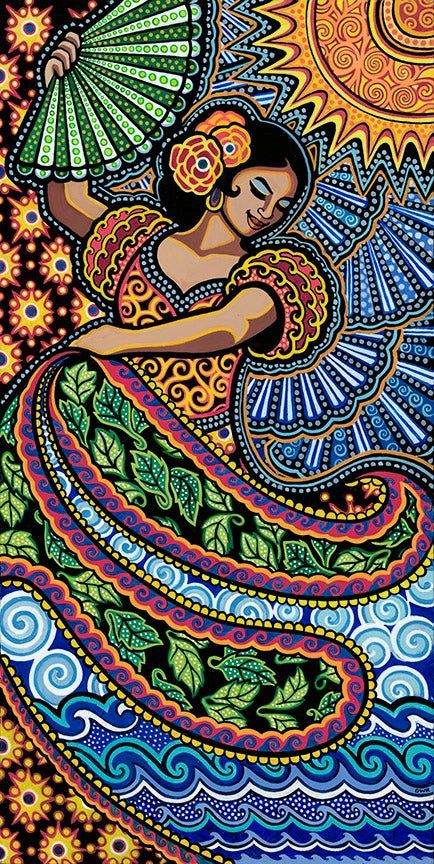 Browse all products in the Fine Art Giclée Prints category from Daniella Willett-Rabin Fine Art Prints. Mexican Artwork, Mexican Paintings, Owl Paintings, Indian Folk Art, Mexican Folk Art, Arte Tribal, Aztec Art, Mexico Art, Madhubani Art