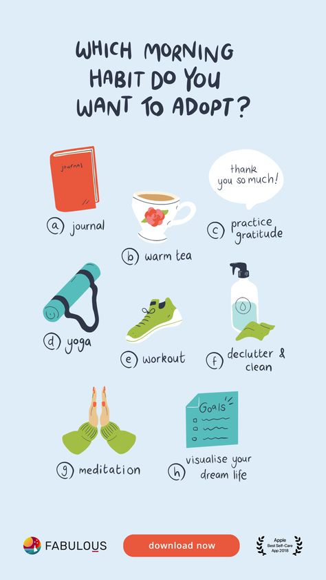 Morning aren't for everyone but here are a few ideas to make it a bit smoother