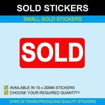 Details About Sold 10 X 20mm Stickers Business Signs Sticker Sign Stickers