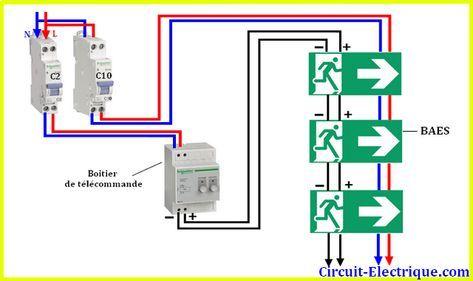 Schema Branchement Cablage Baes Electrique Circuit Electrique