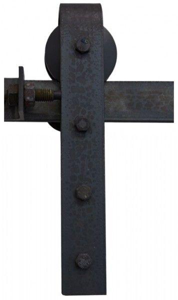 Schiebeturbeschlag Stahl Einzelkomponenten Schiebeturbeschlag