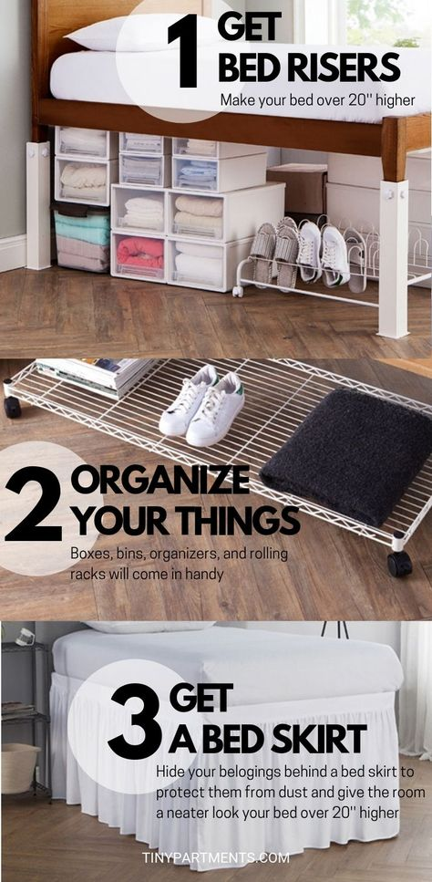 How To Increase Storage Space In Your Room In 3 Steps