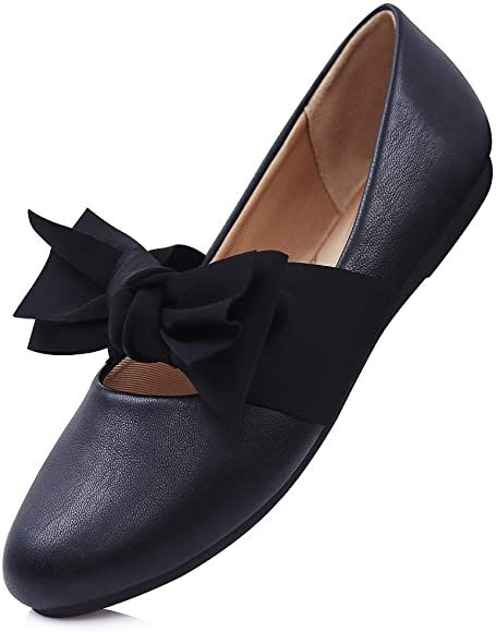 Loafers for Women Comfort Driving Sneakers,Ladies Shoes Flat Bowknot Slip-On Walking Shoes Fashion Flats Shoes