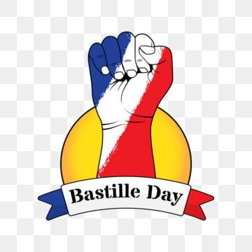 Hand With France Flag Bastille Day Elements Flag Bastille French Png And Vector With Transparent Background For Free Download Bastille Day Print Design Template Graphic Design Templates