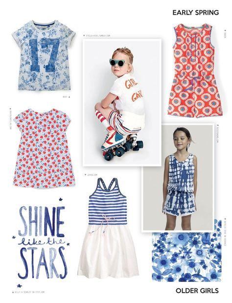 Spring/Summer 2017 - Kidswear Trend Magazine | Book Preview