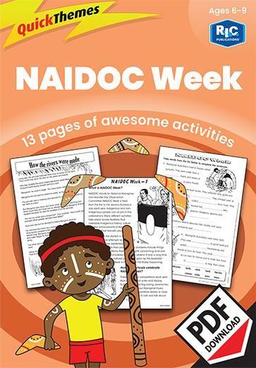 Quick themes — NAIDOC Week — Ages 6—9 digital unit | Aboriginal and