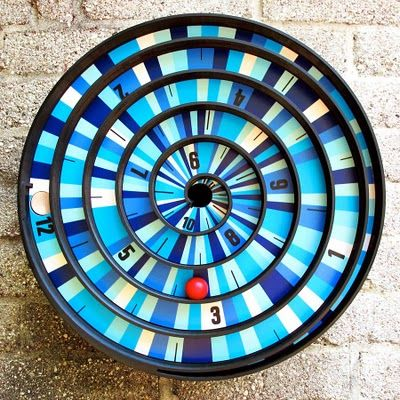 Check out this amazing collaboration between The Spiral Clock and Matt W. Moore who designed three mandala custom graphics for the revolutionary clock.