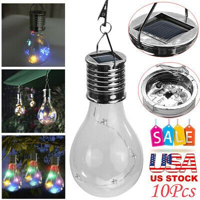 Details About Solar Waterproof Rotatable Outdoor Garden Camping Hanging Led Round Ball Lights In 2020 Led Ball Lights Ball Lights Solar Led Lights