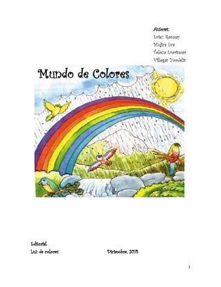 Cuento De Los Colores Pdf Cuentos Colores Club De Lectura
