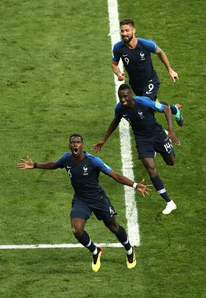 Paul Pogba Photos Photos France V Croatia 2018 Fifa World Cup Russia Final Fifa Soccer Tshirts Fifa World Cup