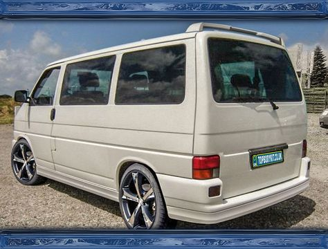 VW T3 CARAVELLE MULTIVAN DACHSPOILER tuning-rs.eu