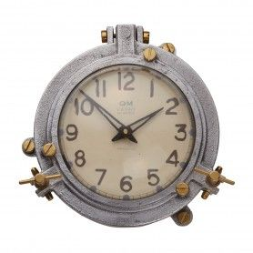 Quartermaster Wall Clock Aluminum Steamship Pendulux Wcqtmal Nautical Clocks Vintage Wall Clock Wall Clock