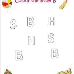 Alphabet Coloring Sheets Estudynotes Letter B Worksheets Alphabet Worksheets Preschool Letter B