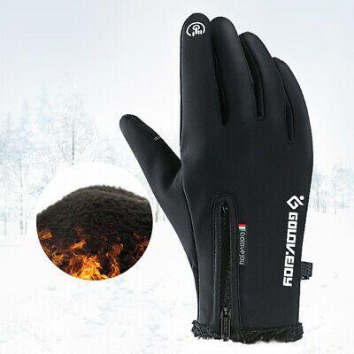 Outdoor Sport Ski Touch Screen Gloves Windproof Winter Warm Mittens Waterproof