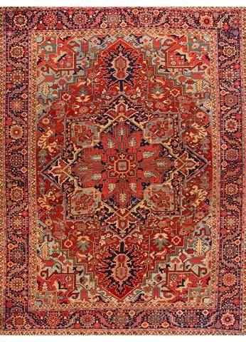 Antique Heriz Rug 11 5 X 15 3 Antique Heriz Rug Antique Persian Carpet Rugs On Carpet