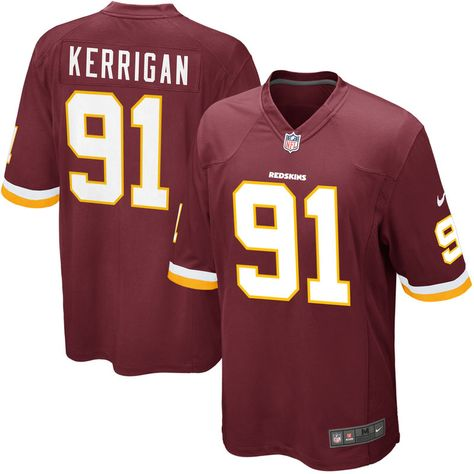 5e3c1595c Ryan Kerrigan Washington Redskins Nike Game Jersey - Burgundy ...