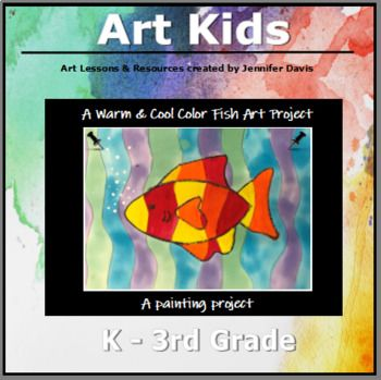 This art lesson is geared toward younger students in grades 1st-5th who are learning about or are beginning to learn about color theory and developing their fine motor skills. The lesson focuses on warm & cool colors, transparent verses opaque, watercolor paint verses tempera paint. The lesson p...