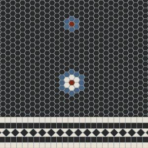"""Decorative Tiles Australia Classy Madetoorder Decorative Floor Design Using 34"""" Square Unglazed Design Decoration"""
