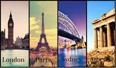 4 capitals of the world