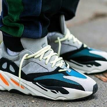 Reposted From Zaenall Shoes Adidaa Yezzy 700 Wave Runner Ready